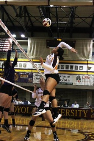 Volleyball team picks up pace