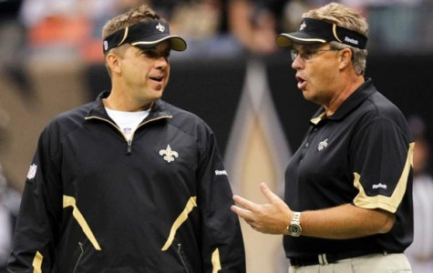 Saints coach Sean Peyton and general manager Mickey Loomis