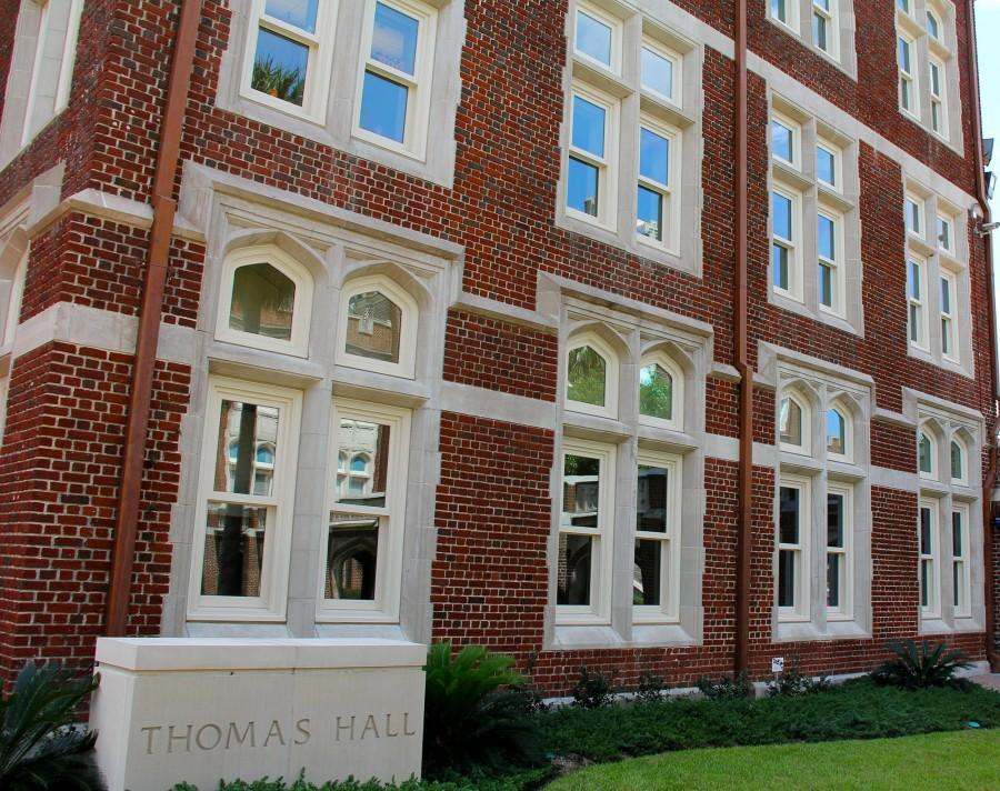 Due to new renovations, Thomas Hall has recieved Gold LEED Certification. Thomas Hall is part of a campus-wide effort to increase sustainability.