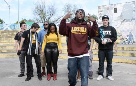 Student rap group creates third cypher video