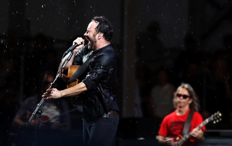Singing in the rain with Dave