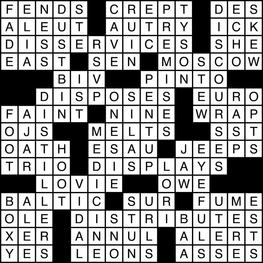 Puzzle Solutions for September 20, 2013