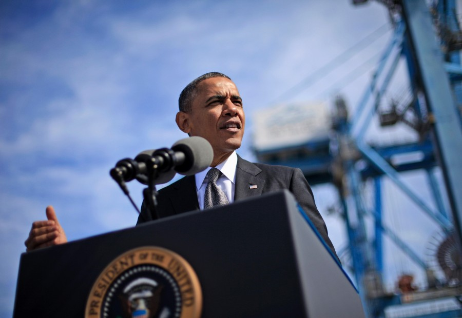 President+Barack+Obama+spoke+about+the+economy+at+the+Port+of+New+Orleans+this+past+Friday.+Obama+traveled+to+the+Gulf+Coast+region+to+make+a+case+that+more+exports+lead+to+more+jobs.