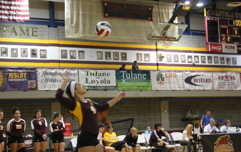 Volleyball team loses tournament