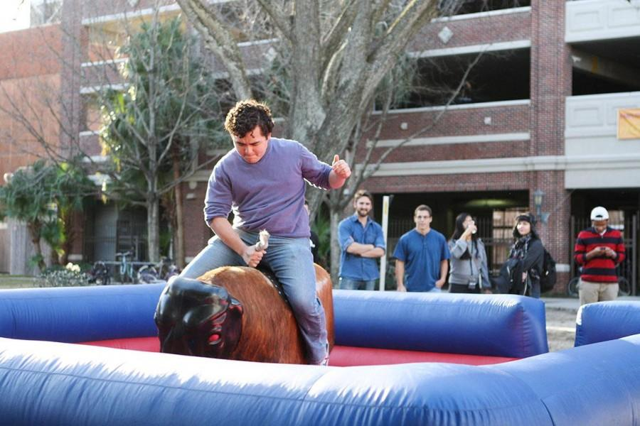 Can you handle the bull?