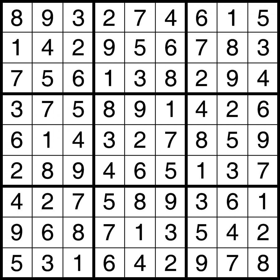 Puzzle Solutions for February 3, 2014
