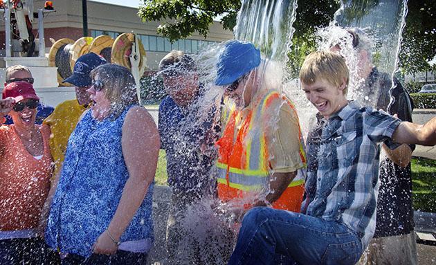 ALS Ice Bucket  Challenge Discouraged in Catholic Schools