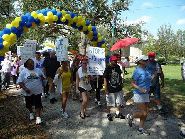 Organization walks for mental illness awareness