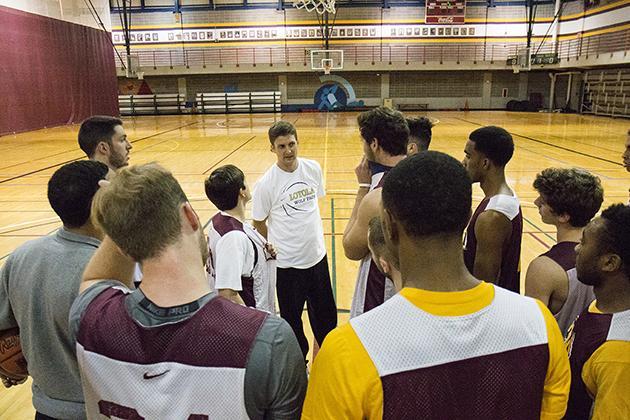 Basketball team preps for fresh start