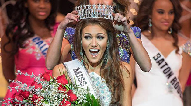 College+of+Law+student+Candice+Bennatt+is+crowned+Miss+Louisiana+USA+2015.++Bennatt+won+the+title+in+October+and+is+now+preparing+for+the+Miss+USA+competition.