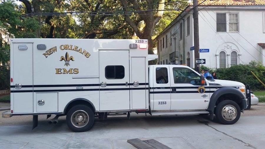 New Orleans EMS is one service that will respond to emergency calls from Loyola's campus since Tulane Emergency Medical Services has been discontinued. New Orleans EMS has worked with Loyola before, and will fill the void that TEMS has created.