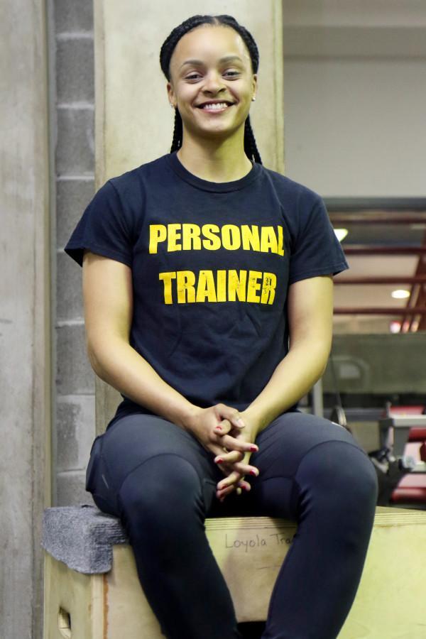 Loyola graduate leads her own fitness program