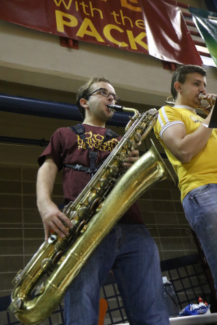 Loyola pep band takes over the Den this season