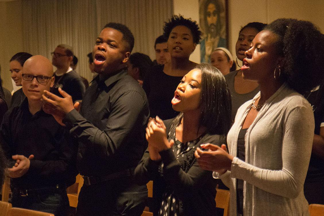 Xavier University reverend holds Black History Mass at Loyola