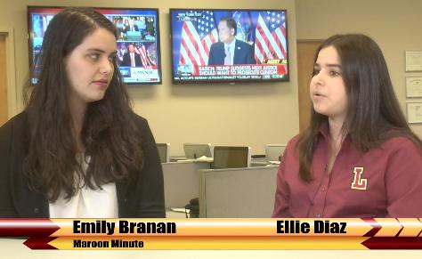 Maroon News Editor interviews SGA candidates