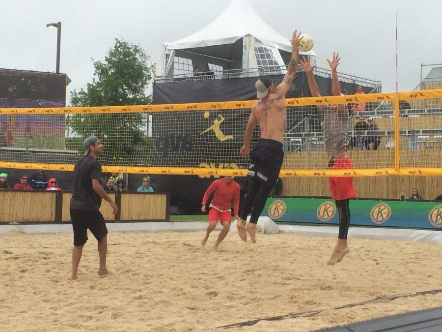 The AVP tournament was held in Kenner on Sunday, April 17 for the second straight year. The next stop on the AVP tour is Huntington Beach, California on May 4.