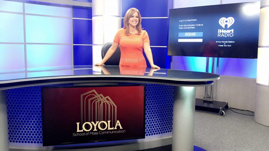 Telemundo anchor and alumna visits campus