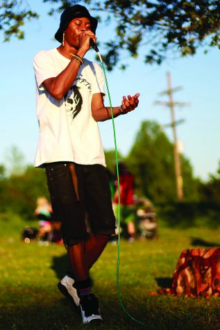 Rapper finds support, inspiration in relationships