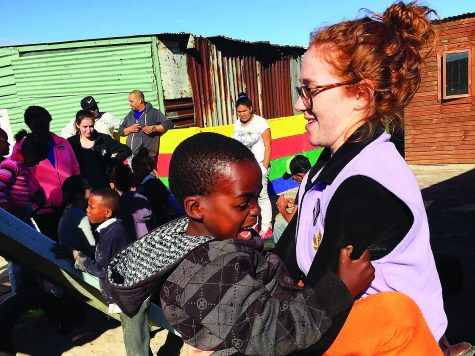 Ignacio Volunteers serve South Africa