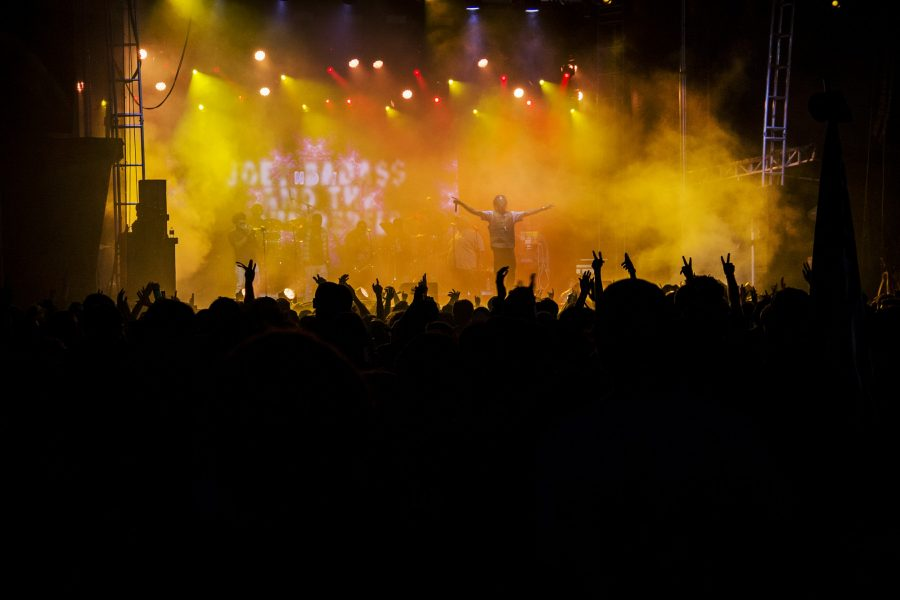 Joey Badass performs at Voodoo Fest 2015. The festival has continued to grow every year since its founding in 1999. Acts such as the Chainsmokers, Arcade Fire and the Weeknd will headline the 2016 edition. Photo credit: The Maroon