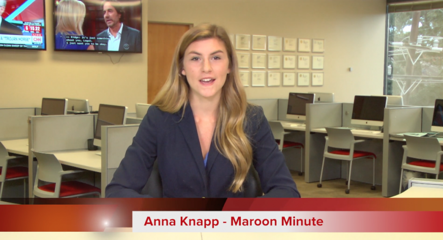 Maroon Minute for October 20, 2016