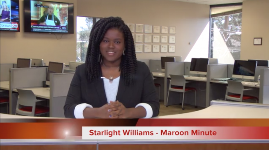 Maroon Minute for October 25, 2016