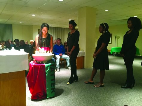 Students pray for racial justice