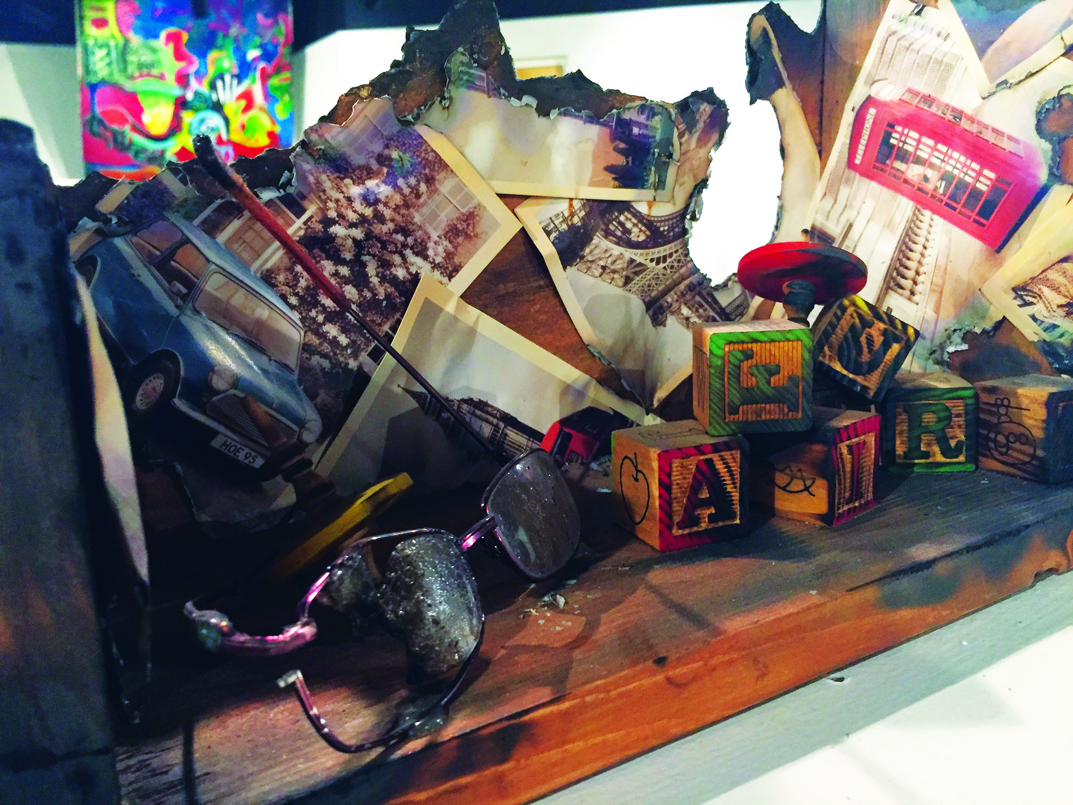 Student art exhibit 'Clusterfunk' carries largest collection yet