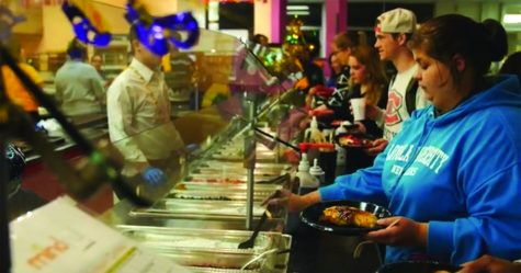 Mass and Pancakes combines stress relief as annual tradition