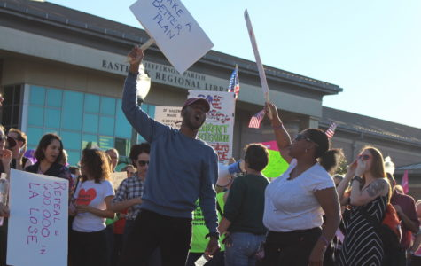 Protesters fired up outside of Sen. Bill Cassidy's heated town hall meeting