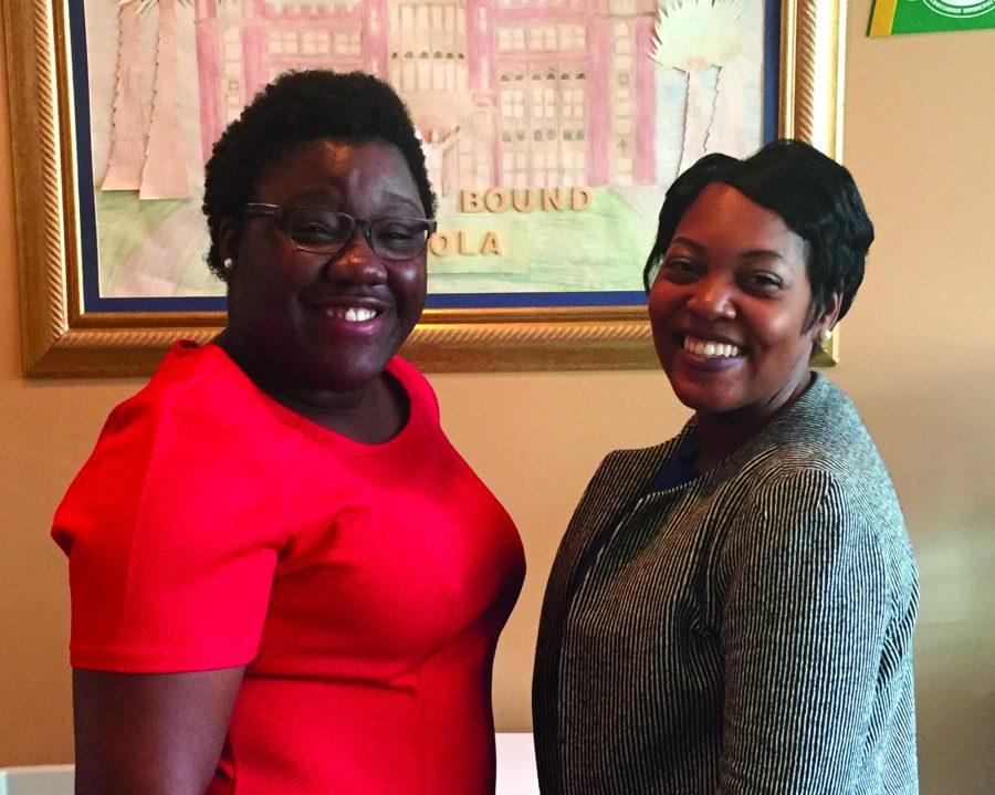 Ms. Whittney Smith and Ms. Arlexia Metoyer