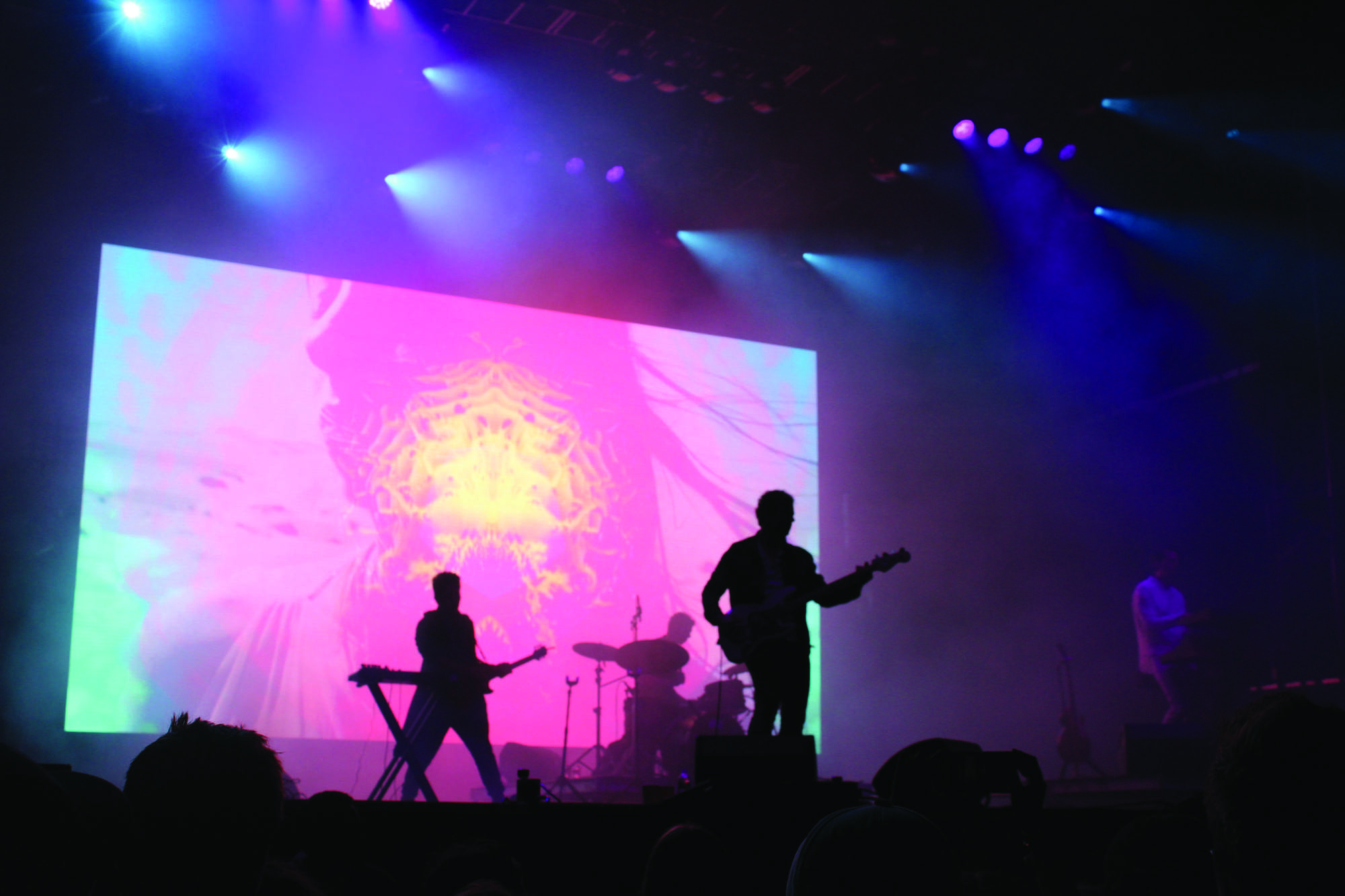 Tycho performs at the Power Plant stage. Tycho played songs from their 2016 album Epoch, among others. Photo credit: Caleb Beck