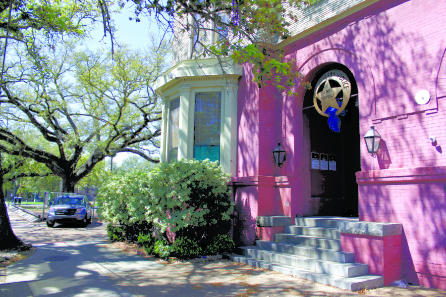 The Second District New Orleans Police station is located on 4317 Magazine St. Photo credit: John Casey