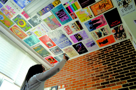 Students express personal style through room decoration