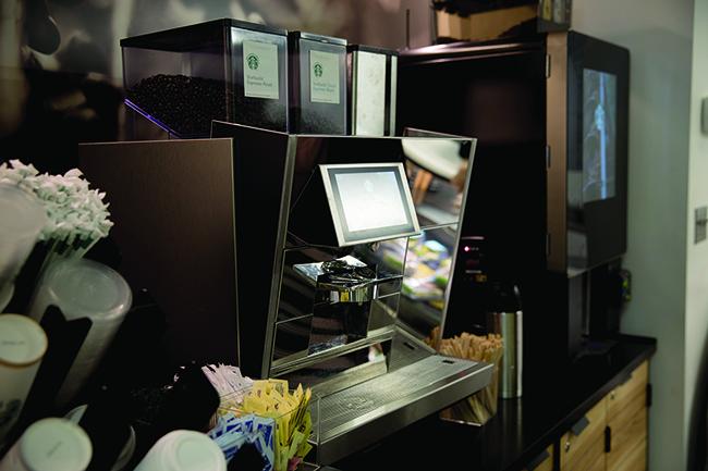 New Starbucks on the Go opens in the Danna Center