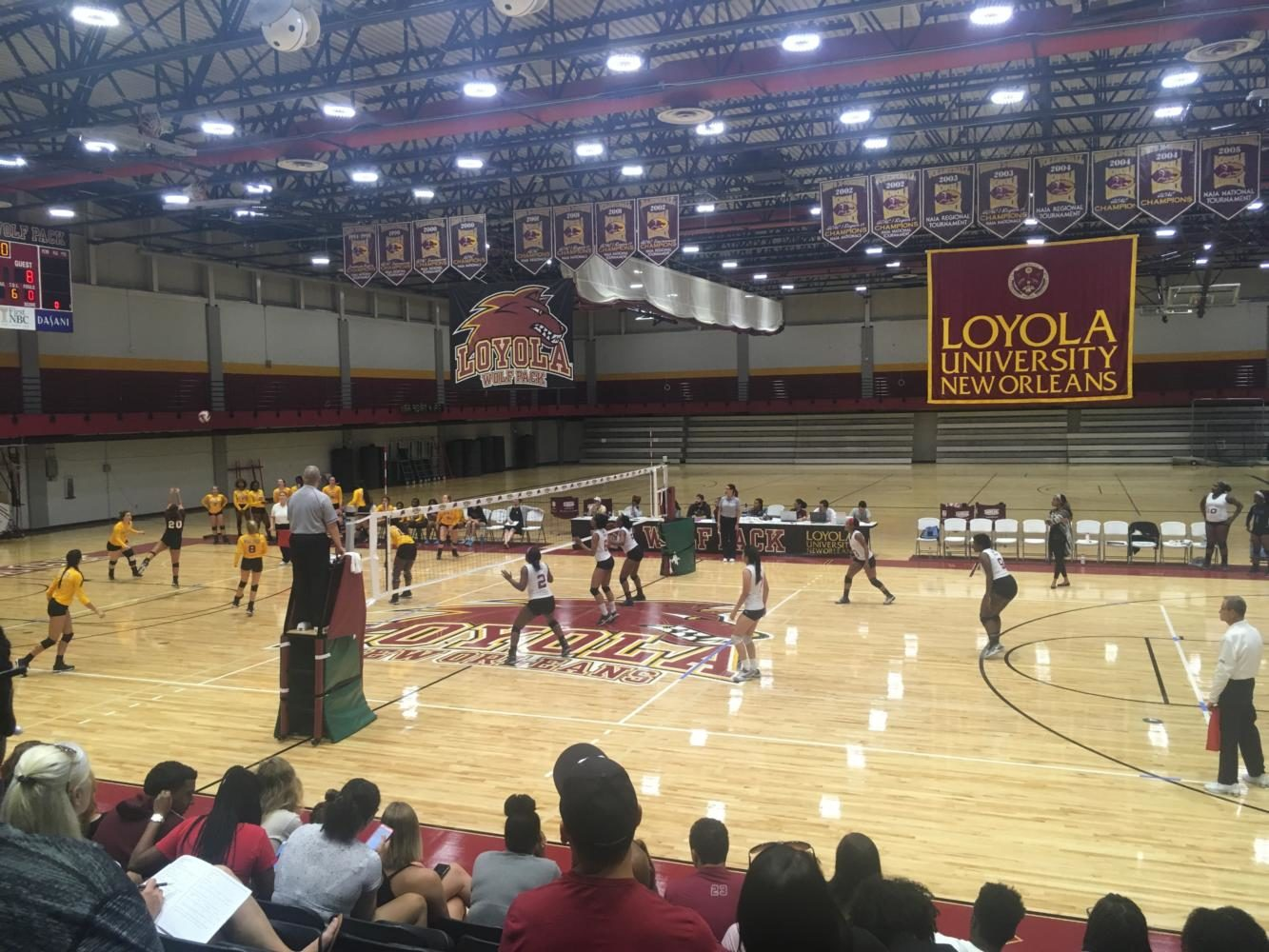 Loyola%27s+Volleyball+Team+Takes+Down+Talladega+College