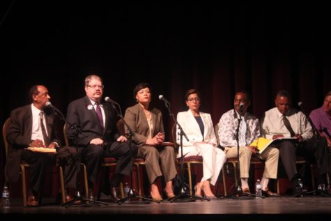 Mayoral candidates stand for musicians' rights