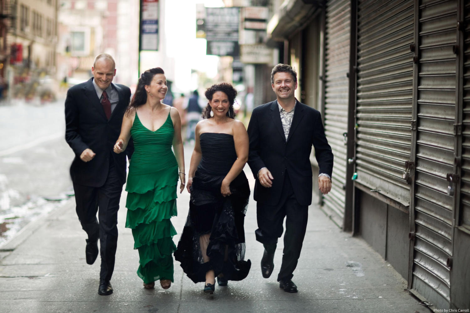 New York Voices come to Loyola