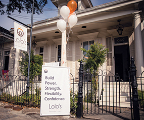 Lolo's Youth Yoga Studio opened for the first time Dec. 2, 2017 at 6107 Magazine Street in New Orleans, La. More than 20 people attended the grand opening. Photo by Julia Santos. Photo credit: Julia Santos
