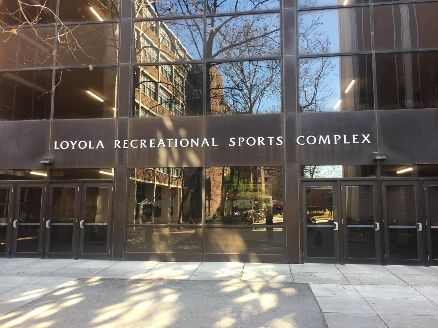 The Loyola University Sports Complex sits open on Jan. 29, 2018. The building will be closed temporarily on Feb. 1. Photo credit: Andres Fuentes