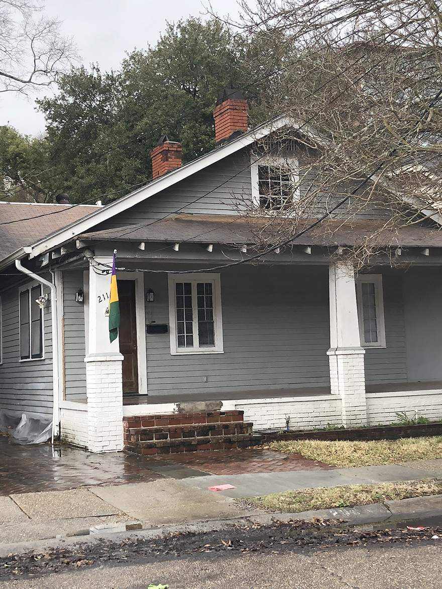 A recently rented home sits near the intersection of Calhoun Street and Freret Street. Many first time renters find themselves stuck in a bad lease if they're not careful during the renting process. Photo credit: Paulina Picciano