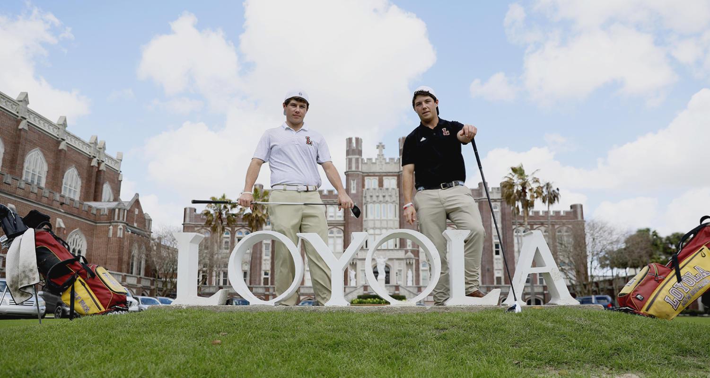 Twin brothers help Loyola golf team to best season yet