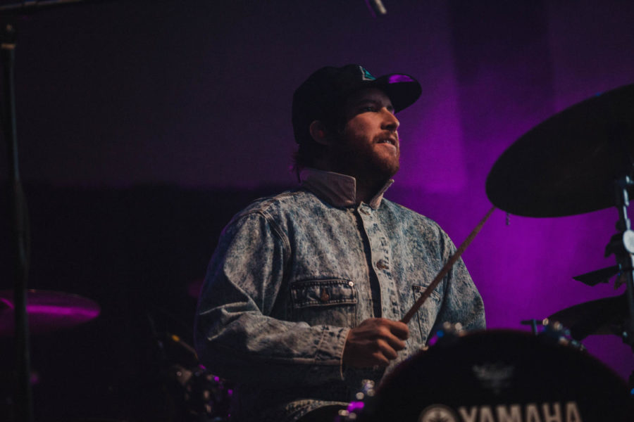 Drummer supporting HOMESHAKE during his performance at the ballroom stage. The BUKU Music + Art Project occurred on March 9-10 making this the 7th year of operation. Photo credit: Angelo Imbraguglio
