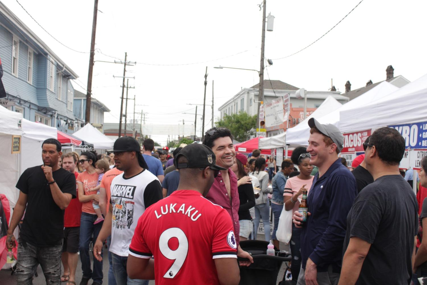 Freret Street kicks off festival season