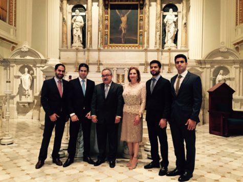 Business brothers receive alumni award