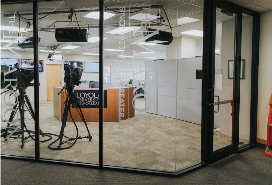 The Maroon newsroom at Loyola University New Orleans.