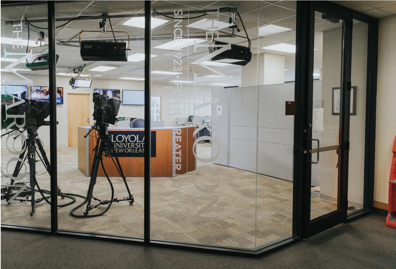 The Maroon newsroom at Loyola University New Orleans.