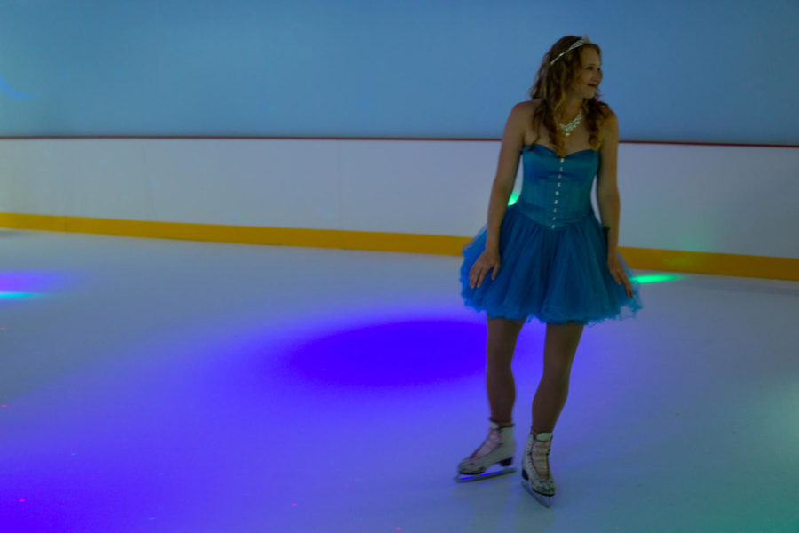 Sarah Zanolli, Penguin Ice Skating's director of skating and the rink's