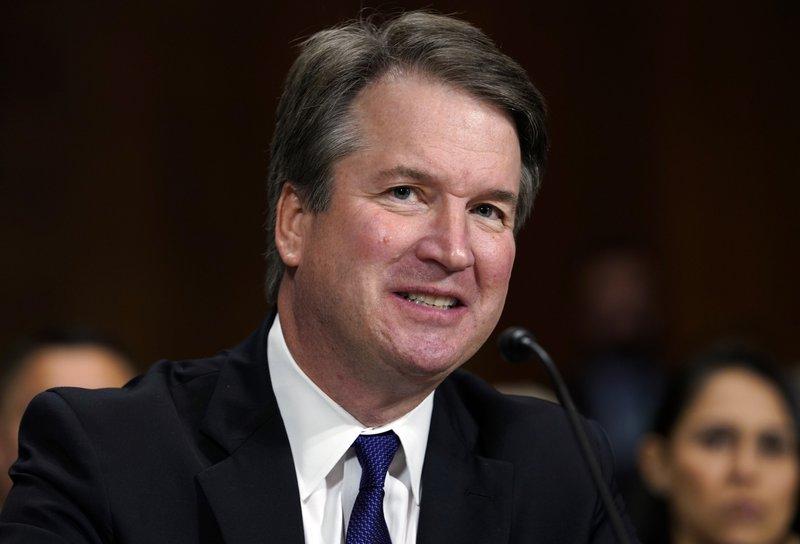 Supreme+Court+nominee+Brett+Kavanaugh+testifies+before+the+Senate+Judiciary+Committee.