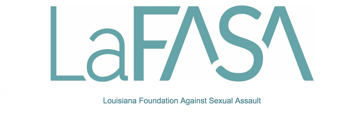 Logo of the Louisiana Foundation Against Sexual Assault. LaFASA works with colleges to prevent sexual violence. Courtesy of LaFASA.